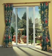 See more of your garden with a Regal patio door.